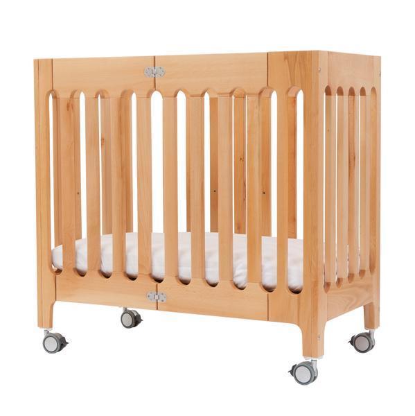 Сгъваемо дървено легло alma mini